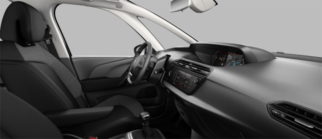 Serienmäßiges Ambiente Citroën Grand C4 SpaceTourer